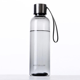 Wholesale Wholesale Clear Plastic Water Bottles - Wholesale- Hot High Quality Plastics Water Bottles Soda Bottles Clear Bottle Lightweight And Portable Watter Bottles Space Cup