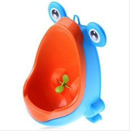 Wholesale Potty Toddler Urinal - New Arrival Baby Boy Potty Toilet Training Frog Children Stand Vertical Urinal Boys Penico Pee Infant Toddler Wall-Mounted