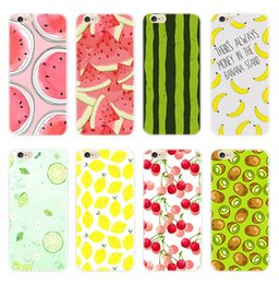 Wholesale Black Apple Fruit - XRQ-SJK0023 cases wholesales Hand painted fruit FOR iPhone7 adn iPhone7 plus Originality cell phone covers Apple samsung phone case