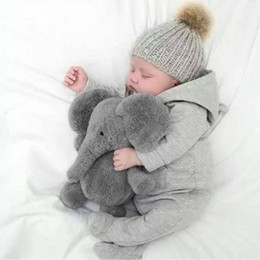 Cute Soft Baby Elephant Doll Stuffed Animals Plush Pillow Kids Toy Children Christmas Bed Decoration Babies Plush Toys Cushion Coupon