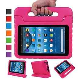 Wholesale Ipad Mini Case 3d - kids EVA Case Safe Foam Soft Shockproof Handle Cover Stand For iPad New 2017 2 3 4 5 air 2 Mini 4 case For galaxy tab 3D Cute portable
