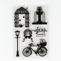 Wholesale Stamping Scrapbook - Wholesale- new diy rubber stamps w wedding decoraion theme high quality hard material love clear seal on scrapbook
