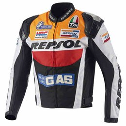 Wholesale Duhan Racing - DUHAN Moto Racing Jackets GP REPSOL motorcycle Riding Leather Jacket Top Quality free shipping