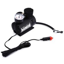 Wholesale Dc Mini Air Pump - Mini Portable DC 12V Electric Car Inflatable Pumping Air Pumps Compressor 300 PSI Airpumps