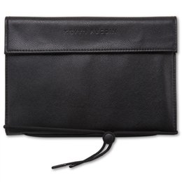 Wholesale Eco Leather - Kevyn Aucoin KA faux leather brush case pouch bag - For The essential Collection(14 brushes pockets) - Beauty Makeup Brushes Blender