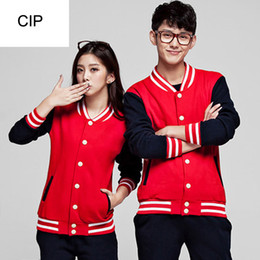 Wholesale Korean Baseball Hoodie - Wholesale- Moletom Baseball Hoodie College Jackets Feminina Masculino New 2017 Spring Korean Varsity Jacket College Fashion Hommes Hoodie