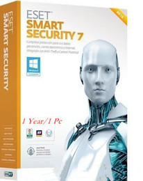 Wholesale Eset Nod32 Antivirus Smart Security - ESET NOD32 Smart Security2017- 10.0 9.0 version 1 year 1pc Security key Multi-device and global fullworking
