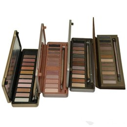 Argentina CALIENTE nuevo Maquillaje Sombra de Ojos NUDE 12 colores paleta de sombras de ojos 15.6g Alta calidad NUDE 1.2.3.5 DHL Envío gratis Suministro