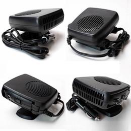 Wholesale Heat Fan Car Cooler - 2V Car Portable Ceramic Heating Cooling Heater Fan Defroster Demister