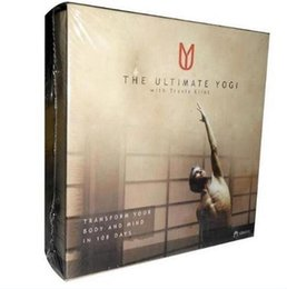 Wholesale Hots Dvd - The Ultimate Yogi 12 DVD Cheap Yogi Fitness Workout DVDs Set Hot Sale Bodybuilding Exercise Video Disc top workout dvds free shipping