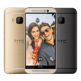 Wholesale Silver Phone One - Refurbished Original HTC ONE M9 4G LTE US EU Unlocked 5.0 inch Octa Core 3GB RAM 32GB ROM 20MP Camera Smart Mobile Phone Free DHL 5pcs