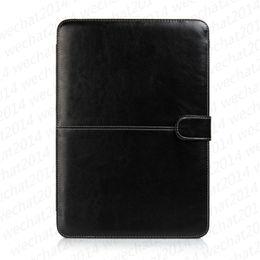 capa de couro apple macbook pro Desconto Livro de couro pu à prova de choque folio book case capa para apple macbook air pro 11 '' 12 '' 13