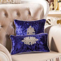 Wholesale Diamond Velvet Bedding - Europe luxury velvet Cushion Cover diamond ornament black cushion pillow bedding car sofa home sofa room Dec wholesale FG530