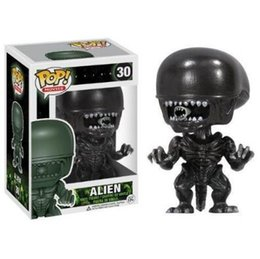 Wholesale Alien Movie Figure - Funko POP Models Funko Pop Movies Alien Vinyl Action Figure Model With Retail Package CCA7402 50pcs