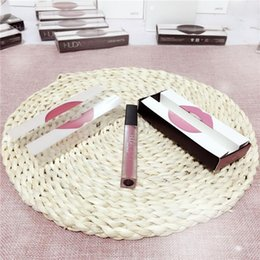 Wholesale Free Color Samples - 2017 Newest Cosmetics Matte Liquid Lipstick High Quality Long Lasting Lip Gloss 16 color for sample test wholesale DHL free shipping