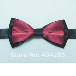Wholesale Wholesale Bow Ties Cheap - Wholesale- ties for baby boy bow tie butterfly bowtie party gravata cravate cheap necktie