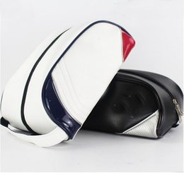 Wholesale Leather Golf Shoe Bag - 2017 Hot style ! customized logo brand golf shoes bag pu leather football shoes bag golf shoe bag club equipment