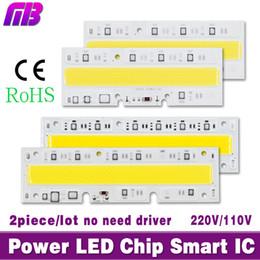 chip diy rgb led Desconto Atacado-2piece / lot LED High Power chips de luz 30W 50W 70W 100W 120W 150W 110V 220V Entrada IP65 IC inteligente para DIY LED Sport Light