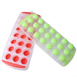 Wholesale Premium Ice - Easy To Use High Quality Premium Silicone Easy-Pop No Twist Ice Cube Tray - Makes 21 Ice Cubes