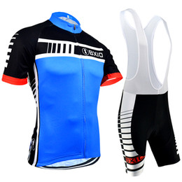 Wholesale Cycling Team Jerseys China - BXIO Brand Cycling Jerseys Pro Team Bicycle Clothes China Hot Sale Item Bike Clothing Blue cycle Jersey Maillot Ciclismo BX-094