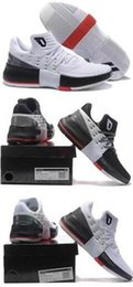 Wholesale Usa Cities - Lillard Dame 3 CNY Roots Rip City Red White Black 2016 Men Basketball Shoes Bounce Size USA 7 12 Wholesale Free Shipping Sneakers