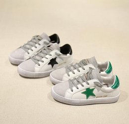 Wholesale Baby Girl Hot Pink Shoes - Hot sales 2017 Spring Child Boy Sport Shoe White Children Fashion Pu Girl Leather Baby Trainer Brand Casual Shoes free shipping