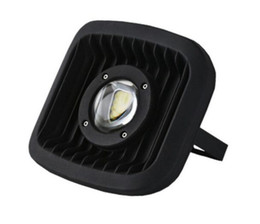 Wholesale Pf Led Light - Glass Lens bridgelux LED High power COB Flood Light 30W water proof spot lamp AC85-265V high PF Landscape lighting MYY