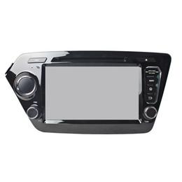 Wholesale Kia Rio Dvd - Free shipping 8inch Android5.1 Car DVD player for Kia Rio with GPS,Steering Wheel Control,Bluetooth, Radio