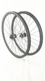 Wholesale Mtb Wheels 29er - carbon MTB wheels 29er Mountain bike wheels 40MM width MTB bike wheel UD 3K 29er novatec791 792 hubs bicycle Mountain bike wheels