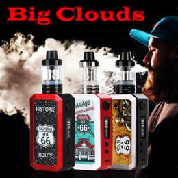 Wholesale E Cigarette Vapour - Geesun Route66 80W e liquid best e cigs vapour cigarettes vapor cigs electric cigarette vape ejuice ecig vaporizer starter kit