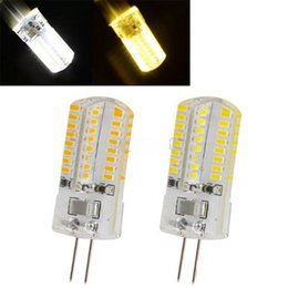 Wholesale Halogen Light Bulbs G4 - New dimmable G4 led Lamp High Power SMD3014 3W 5W 6W 7w 12V 220V corn light Replace 10W 30W halogen lamp 360 Beam Angle LED Bulb lamp