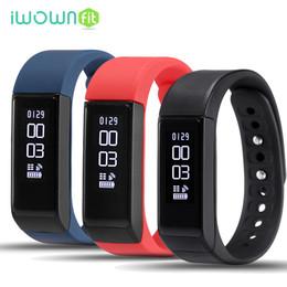 Wholesale Bracelet Bluetooth Sms - I5 Plus Waterproof Fitness Tracker Bluetooth Smart Wrist Band Bracelet With Sleep Monitor Call SMS Reminder