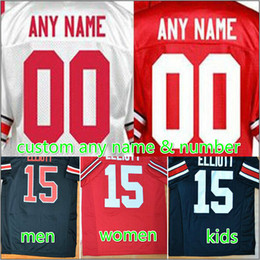 Wholesale Custom Rugby Shorts - Customized Ohio State Buckeyes Jerseys custom for Men's women youth kids Personalized College sport Jersey black white red