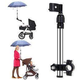 Wholesale Umbrellas Strollers - Plastic Handicraft Adjustable Plastic Support Structure Baby Stroller Pram Umbrella Stretch Stand Holder