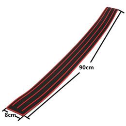 Proteção de carros de porta on-line-Protetor de pára-choques proteção anti-riscos diy flexível porta de borracha porta de entrada protetor de pára-choque traseiro protetor para carro 35 polegada