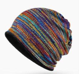 Wholesale White Velvet Scarves - 2017 Winter Beanies Collar Scarf Women or Men's Hip Hop Hats Warm with Velvet Inside Z-5008
