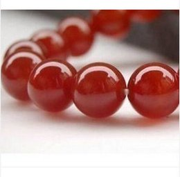 """Wholesale Green Gemstones Loose - New 10mm Red Ruby Round Loose Beads Gemstone 15""""AAA+"""
