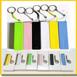 Wholesale External Charger Phone - mini Power Bank Portable Charger Perfume 2600mah cell Phone USB PowerBank External Backup Battery Chargers for Samsung iPhone HTC MP3