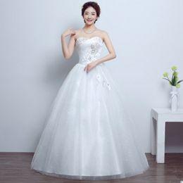 Wholesale Korean Skirts Pictures - Women Wedding Dress Korean Fashion Tube Top Evening Dress Large Size Smearing Long Dress Sex6y Par6ty Skirt