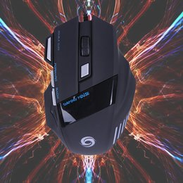 Wholesale High Quality Computer Mouse - Wholesale- Professional Wired Gaming Mouse 7 Button 5500 DPI LED Optical USB Wired Computer Mouse Mice Cable Mouse High Quality Wholesale