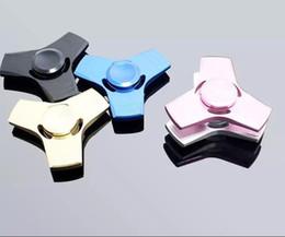 Argentina Nueva EDC Hand Spinner Finger Toys Para Fidget Spinner Aleación de aluminio Metal Gyro Descompresión Ansiedad Juguetes con paquete al por menor Suministro