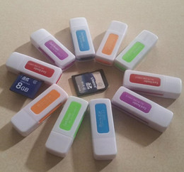 2019 connecteur de mini carte Lecteur de cartes multifonctions jade spécial 4 en 1 haute vitesse USB 2.0 support de lecteur de cartes 64 Go TF, SD, M2, MS pour les ordinateurs portables Tablet PC DHL