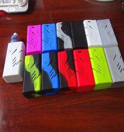Wholesale Starter Case - Smok t-priv 220w Silicone Case Bag Colorful Rubber Sleeve Protective Cover Skin For Smok tpriv 220 Box Mod Vape Starter Kit 12 Color