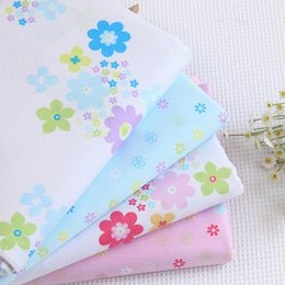 Wholesale Quilt Cutting - Cotton Flower Pre Cut DIY Handmade Decor Charm Cloth Squares Quilt Household Sewing Fabrics Textiles no1