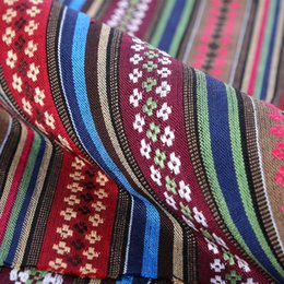 Wholesale Checked Bedding Sets - 5Yards LOT Wholesale Cotton And Flax Fabric Suit Antependium Fabric Handmade Quilts National Windmills Set Of Cloth