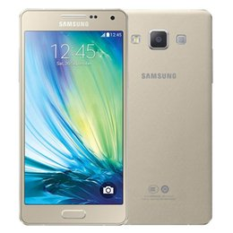 Wholesale Quad Core 13mp Camera - Original Refurbished Samsung Galaxy A5 A5000 Dual SIM 5.0 inch Quad Core 2GB RAM 16GB ROM 13MP Camera 4G LTE Unlocked Mobile Cellphone