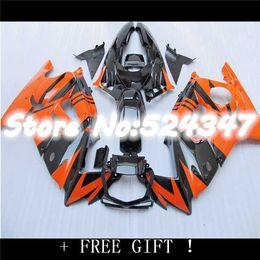 Wholesale Orange Honda F3 - High quality Fairing kit for CBR600F3 95-96 CBR600 F3 1995 1996 CBR 600 F3 95 96 fairings Orange black