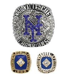 Wholesale 1986 Mets - 3pcs set 1969 1986 2015 New York Mets NLCS world series Championship Ring size 11