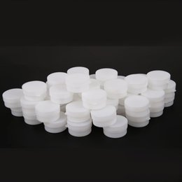 Wholesale Empty Bottles Jars - Portable 1000pcs 5g 10g Mini Refillable Bottles Cosmetic Empty Cosmetic Jar Pot Eyeshadow Face Cream Container Box White