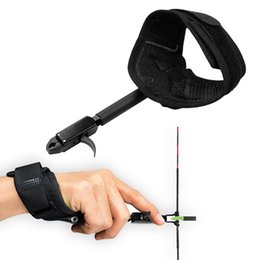 Wholesale Arrow Archery - Archery Release Aids use for Compound Bow Hunting Shooting Wrist Trigger Caliper Release